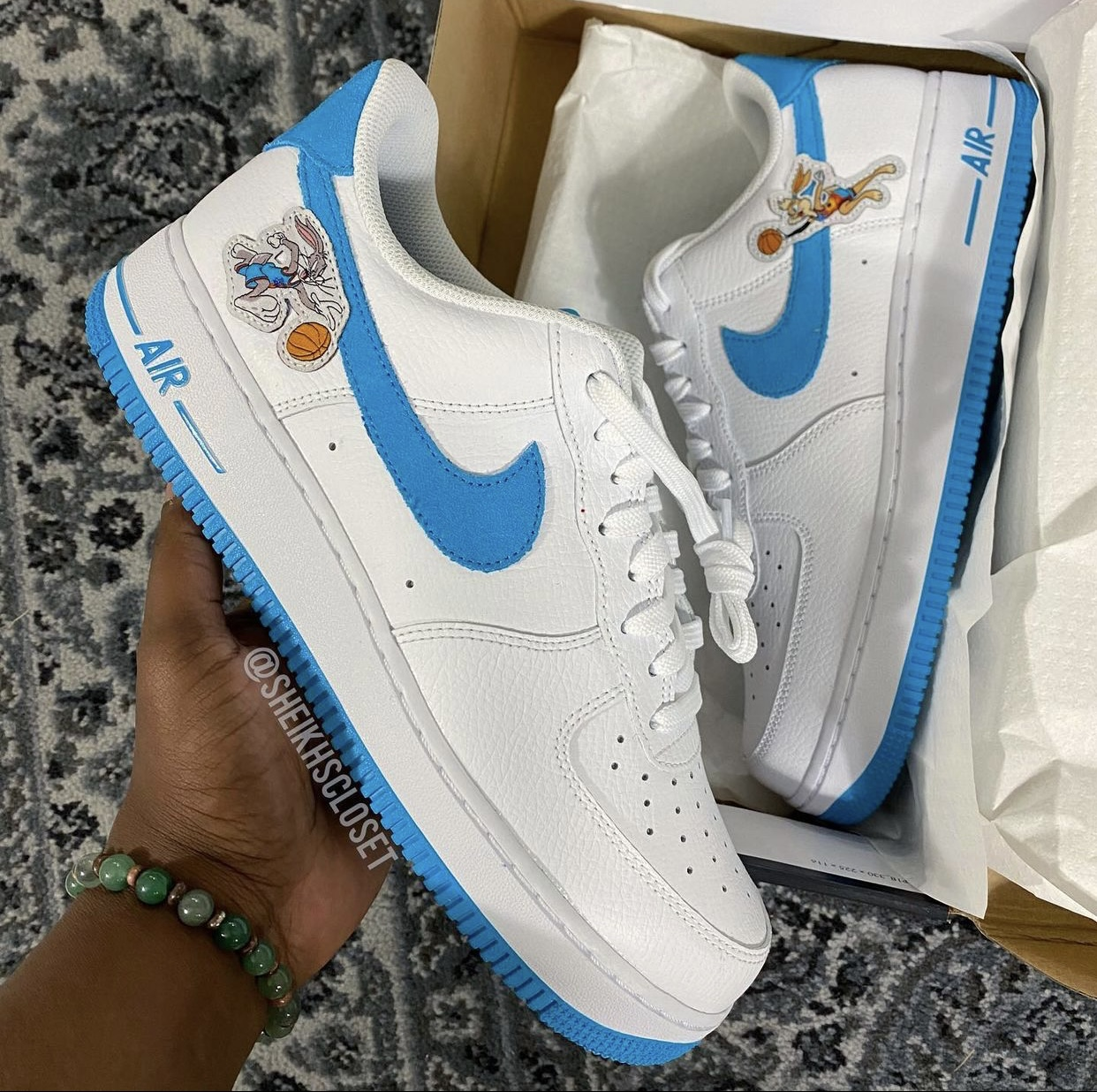 Space Jam Nike Air Force 1 Low Hare Release Date Info