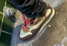 Travis Scott Nike Air Max 1 Baroque Brown