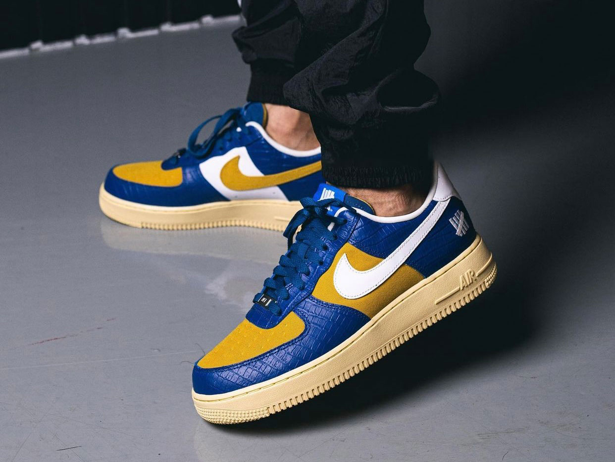 Undefeated Nike Air Force 1 Low Dunk vs AF1 Pack On-Feet