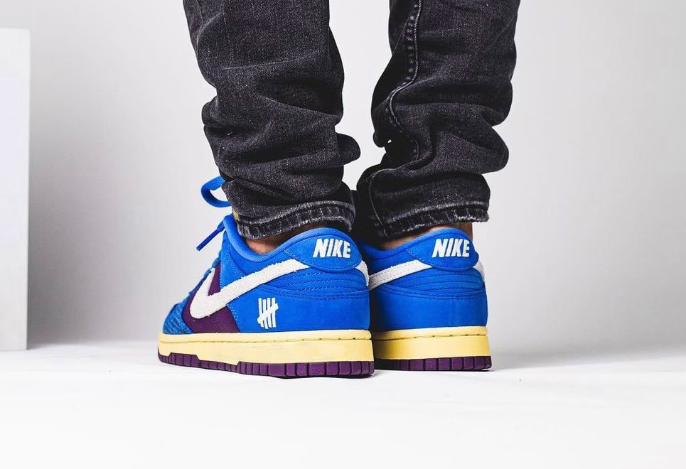 Undefeated Nike Dunk Low DH6508-400 On-Feet