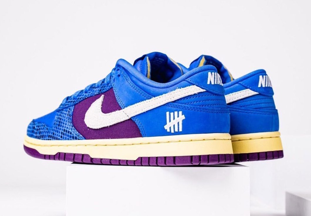 Undefeated Nike Dunk Low Blue Purple DH6508-400 Release Date