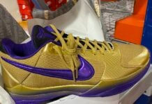 Undefeated Nike Kobe 5 Protro Hall of Fame DA6809-700