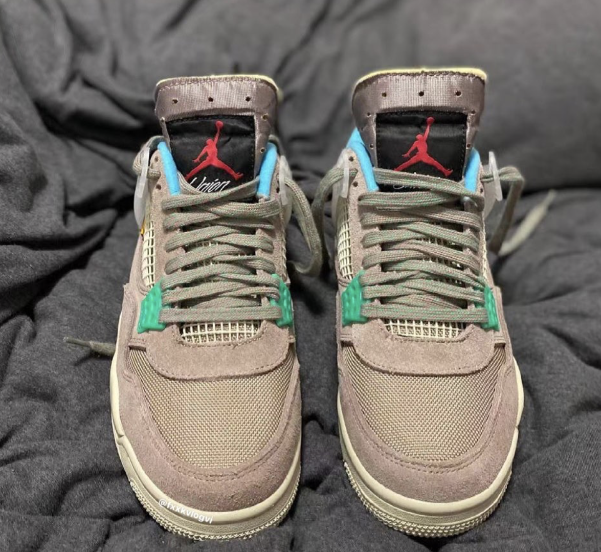 Union x Air Jordan 4 Taupe Haze DJ5718-242 Release