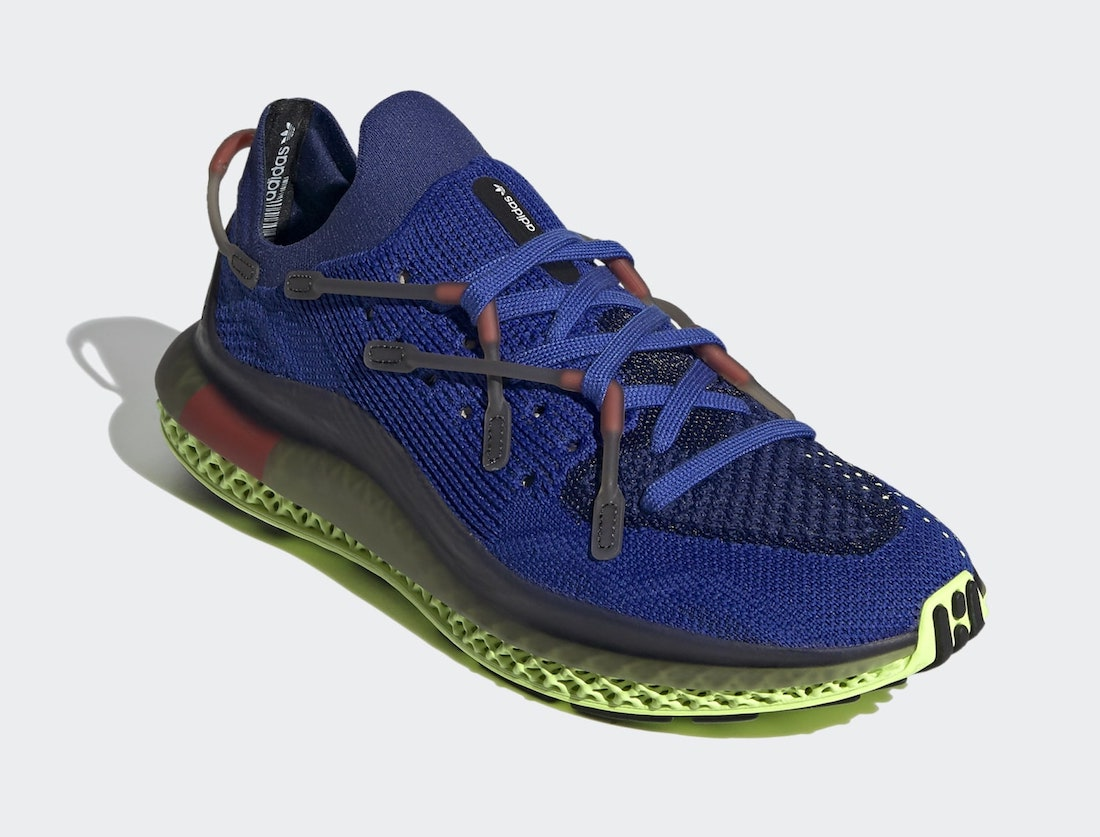 adidas 4D Fusio Bold Blue Flash Yellow H04509 Release Date Info