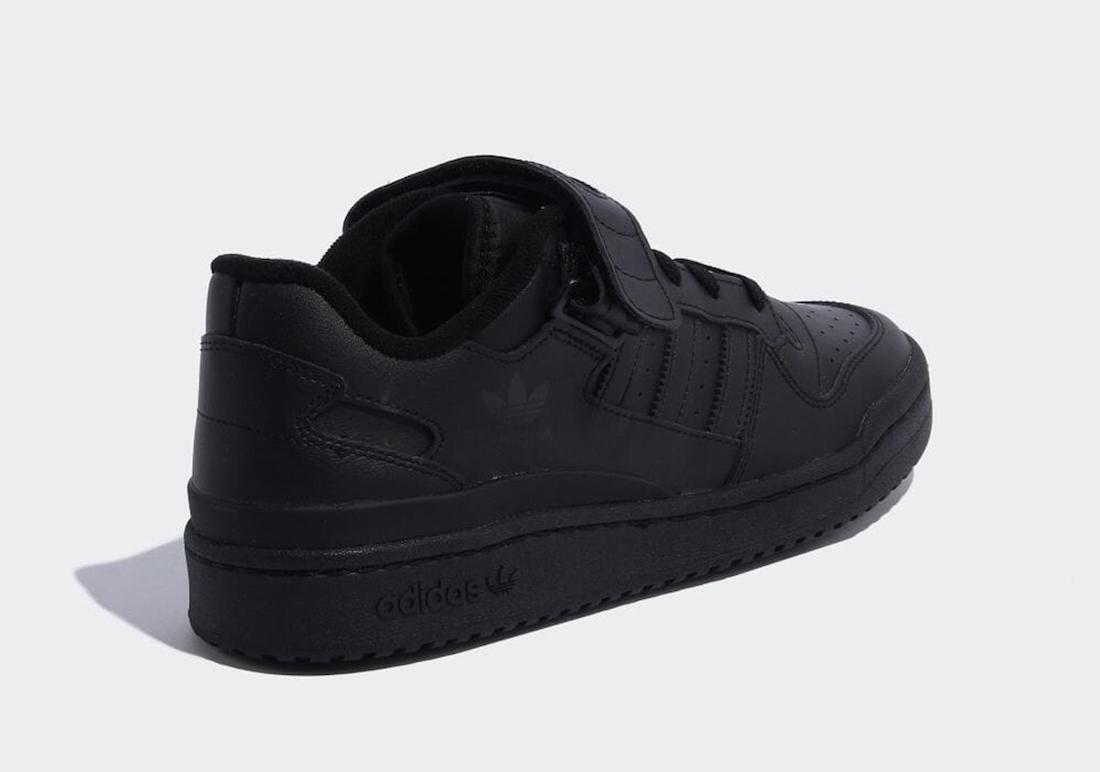 adidas Forum Low Triple Black GV9766 Release Date Info
