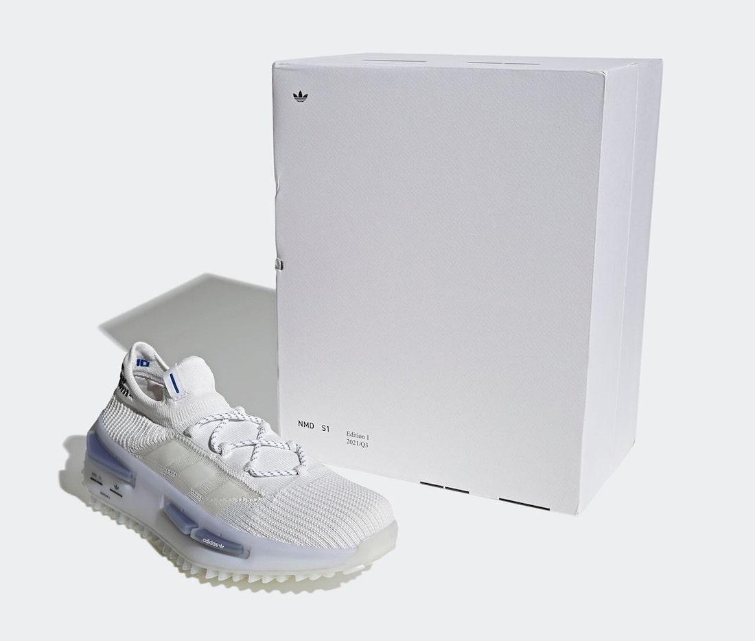adidas NMD S1 White GZ7900 Box