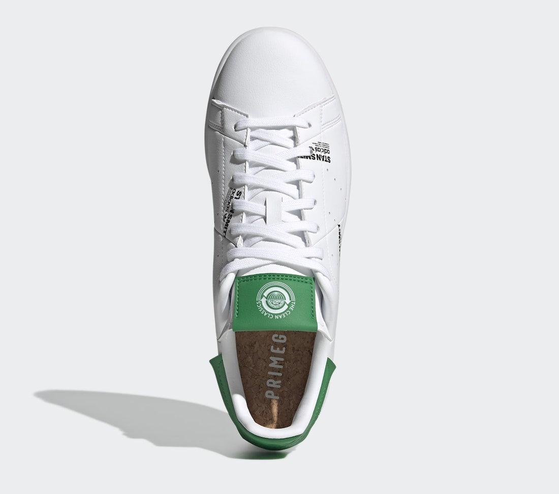 adidas Stan Smith White Green Black GV7666 Release Date Info