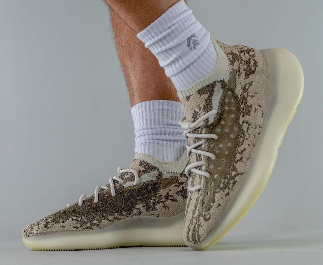 adidas Yeezy Boosst 380 Stone Salt GZ0473 On-Feet