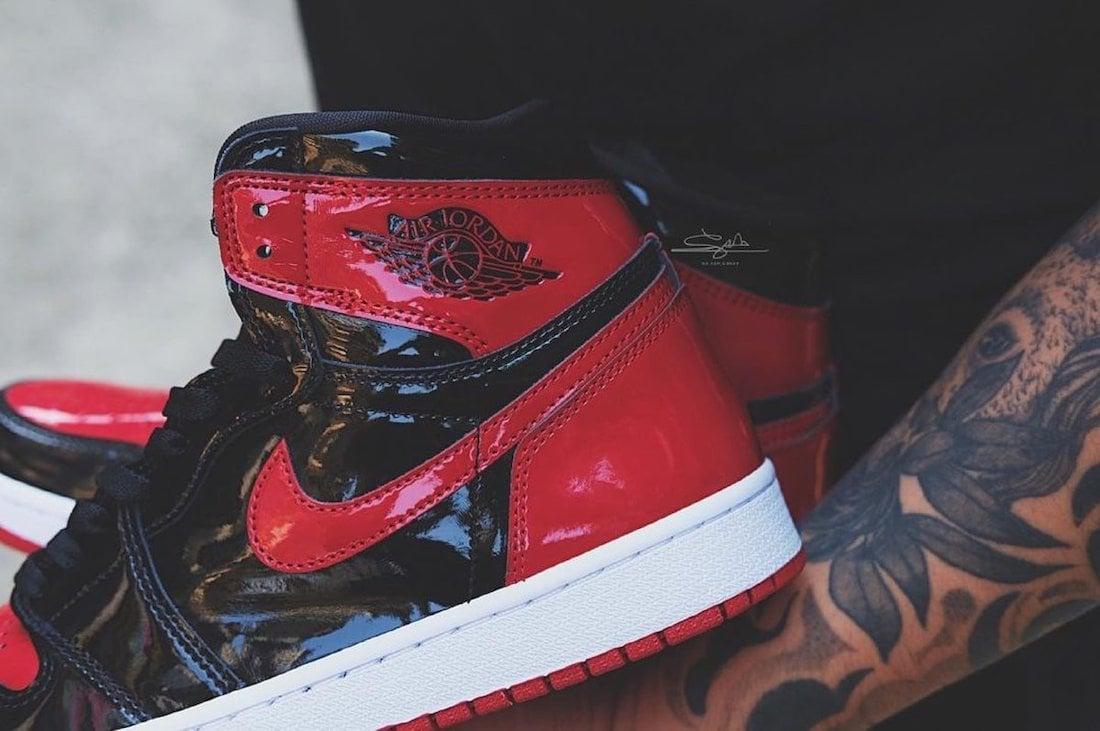 Air Jordan 1 High Bred Patent 555088-063 Release Date Info