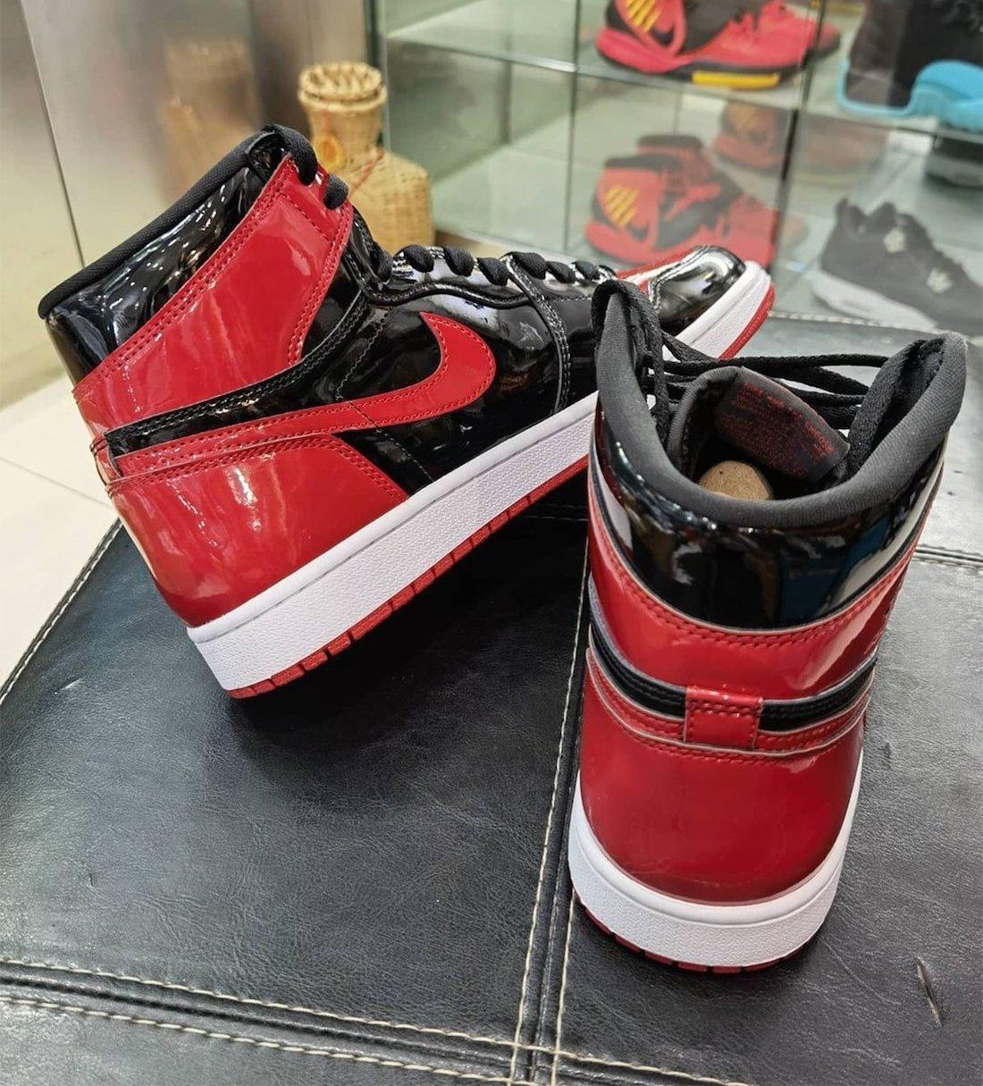 Air Jordan 1 High OG Bred Patent 555088-063 Release Date