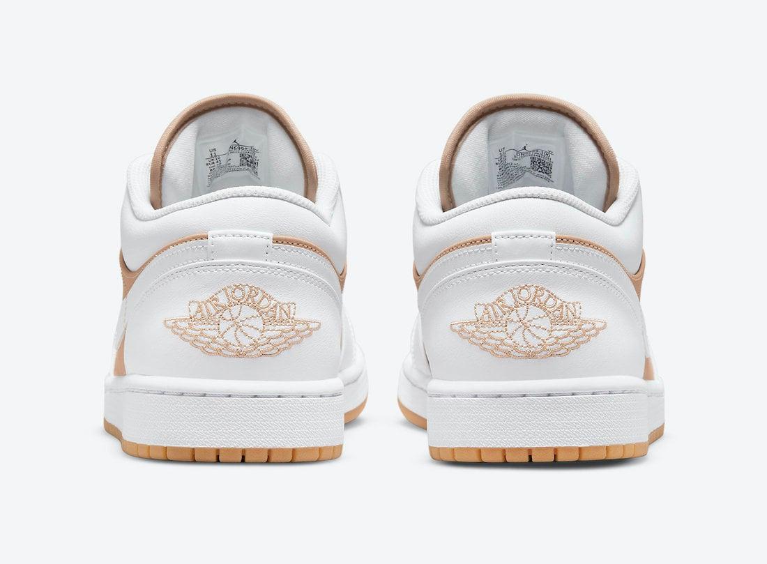 Air Jordan 1 Low White Tan Gum DN6999-100 Release Date Info