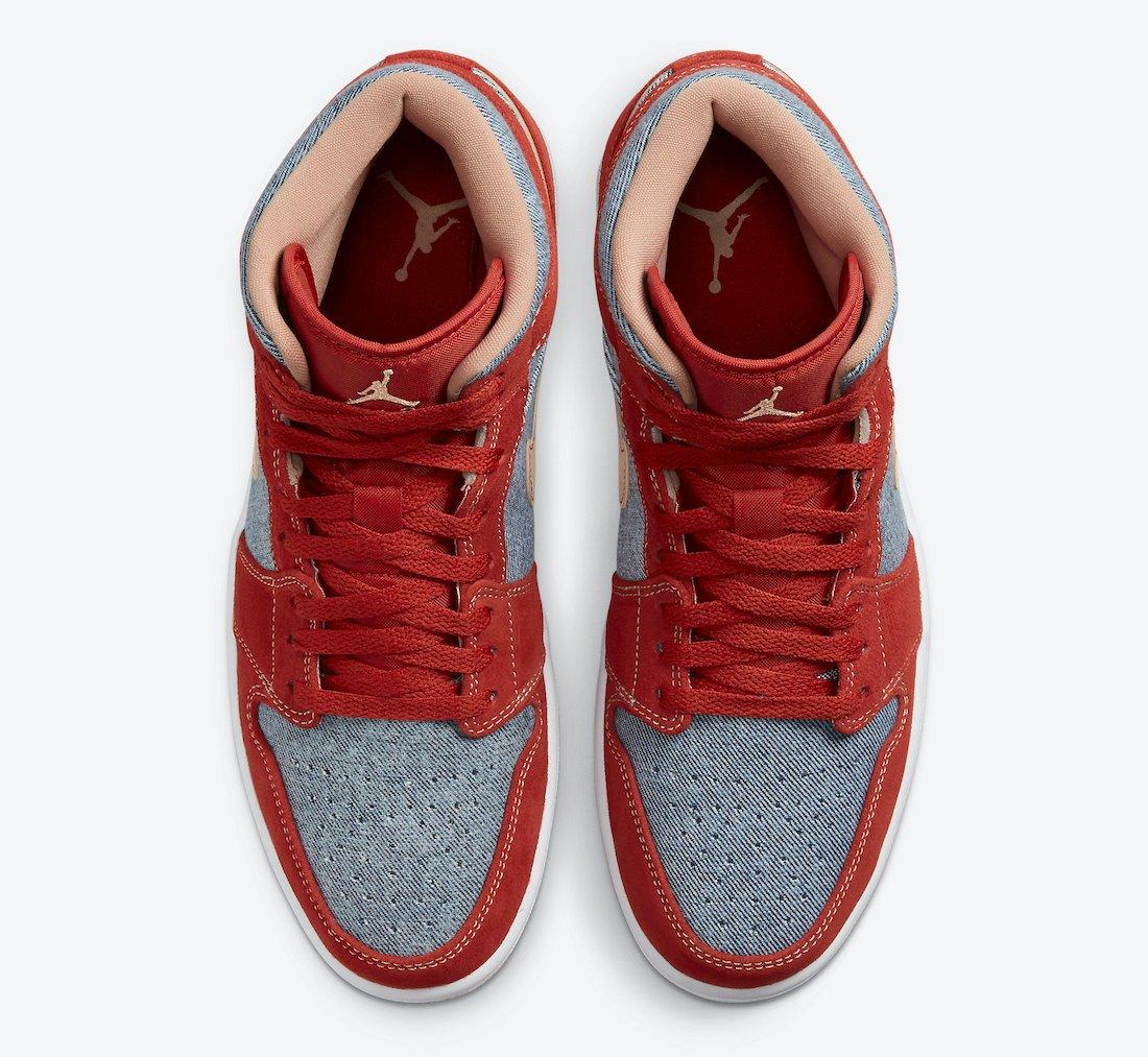 Air Jordan 1 Mid Denim DM4352-600 Release Info Price