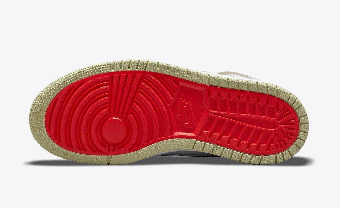 Air Jordan 1 Zoom CMFT Olive Aura CT0979-102 Release Date Info