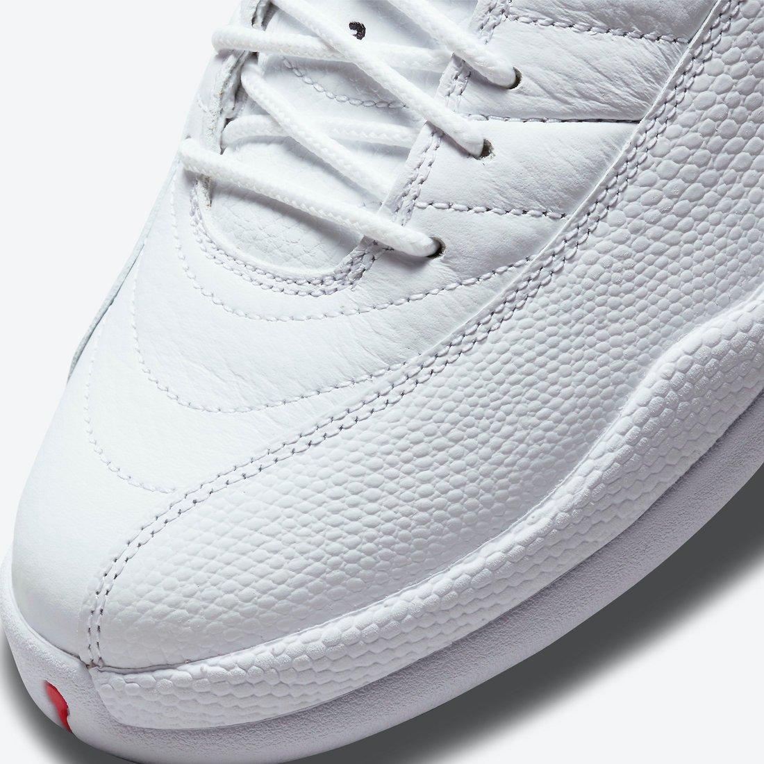 Air Jordan 12 Twist White University Red CT8013-106 Release Price