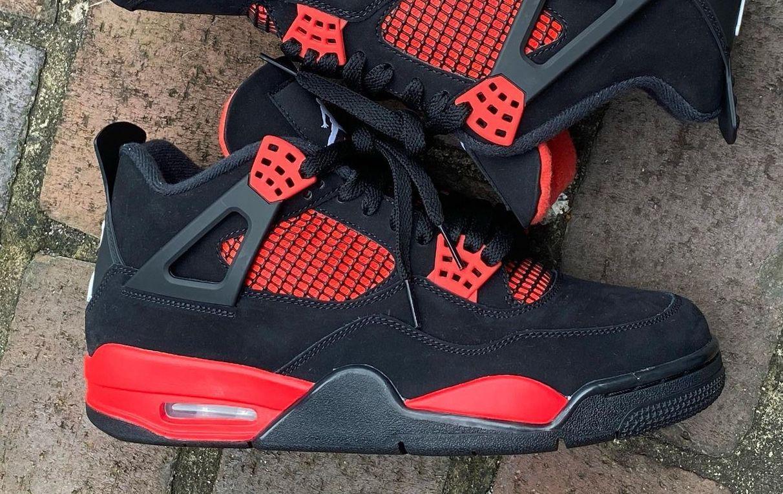 Air Jordan 4 Red Thunder CT8527-016