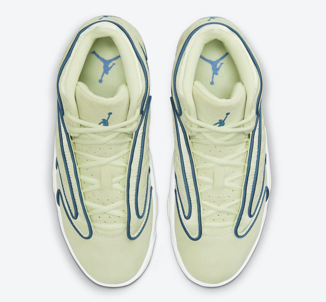 Air Jordan Womens OG Yellow Green 133000-300 Release Date Info