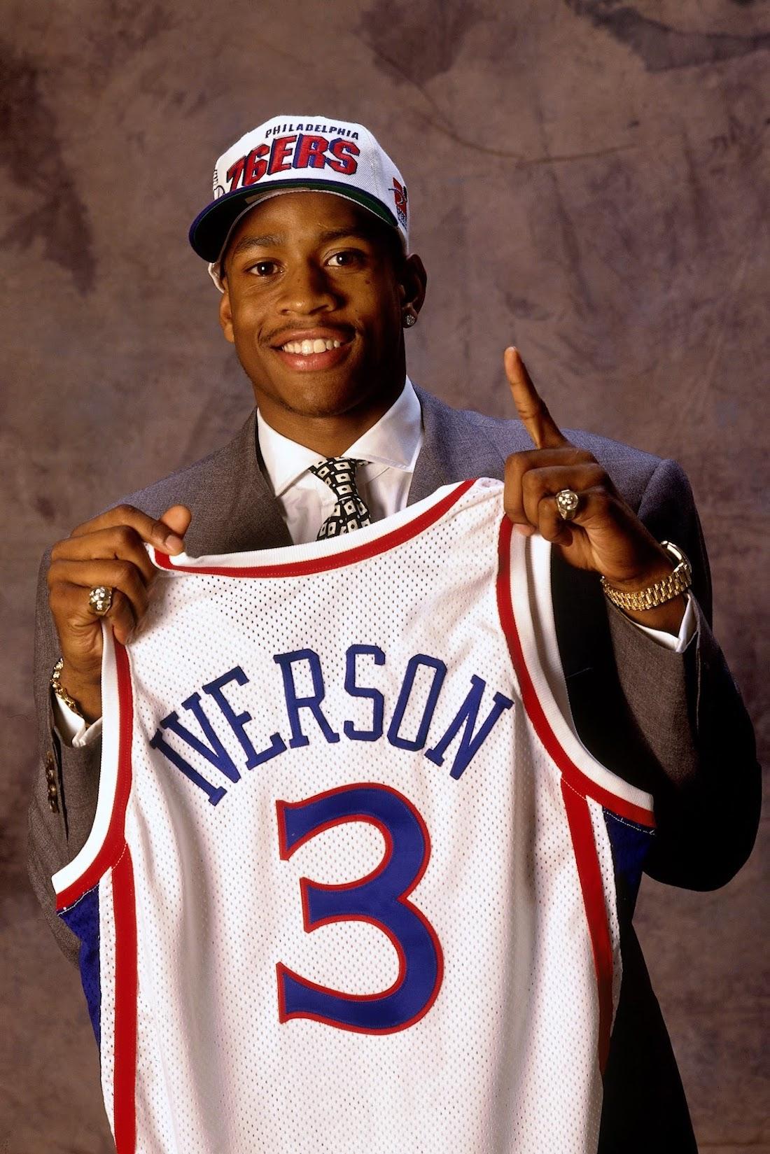 Allen Iverson 1996 Draft Night