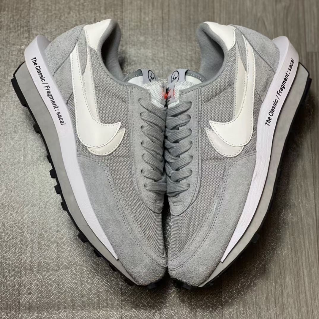 Fragment Sacai Nike LDWaffle Grey White DH2684-001 Release Date Price