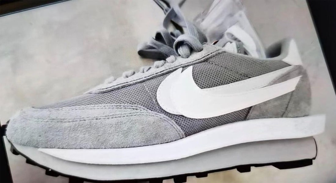 Fragment Sacai Nike LDWaffle Grey White DH2684-001 Release Date Info