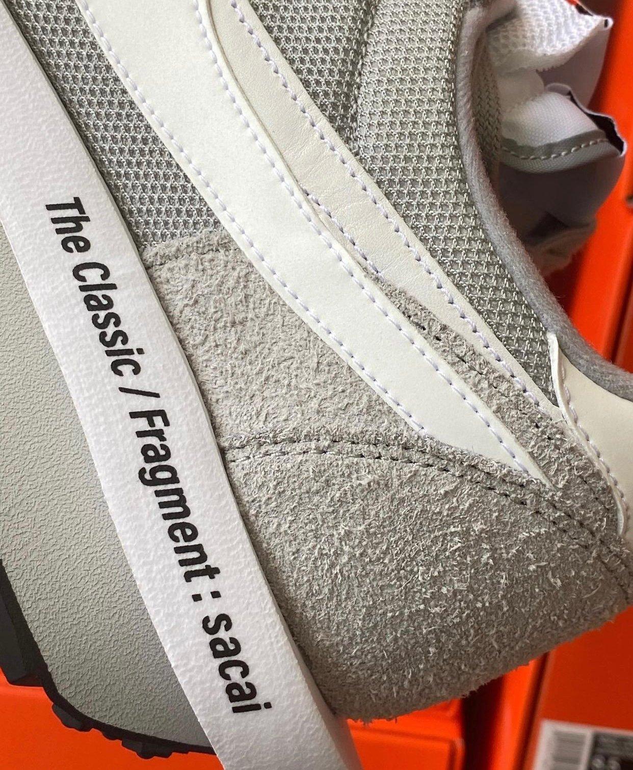 Fragment Sacai Nike LDWaffle Wolf Grey Release Info Price