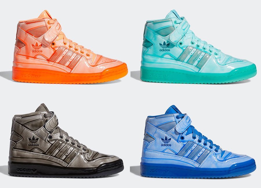 Jeremy Scott adidas Forum Hi Q46124 G54993 G54995 G54999 Release Date Info