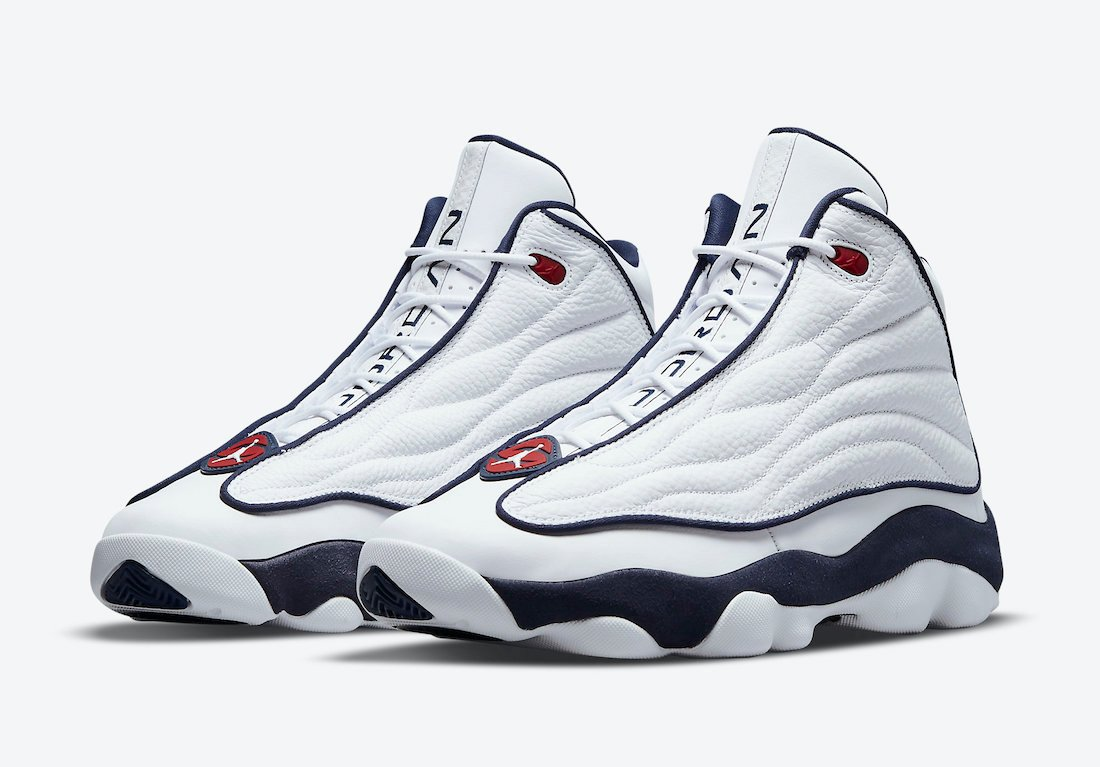 Jordan Pro Strong USA White Navy Red DC8418-002 Release Date Info