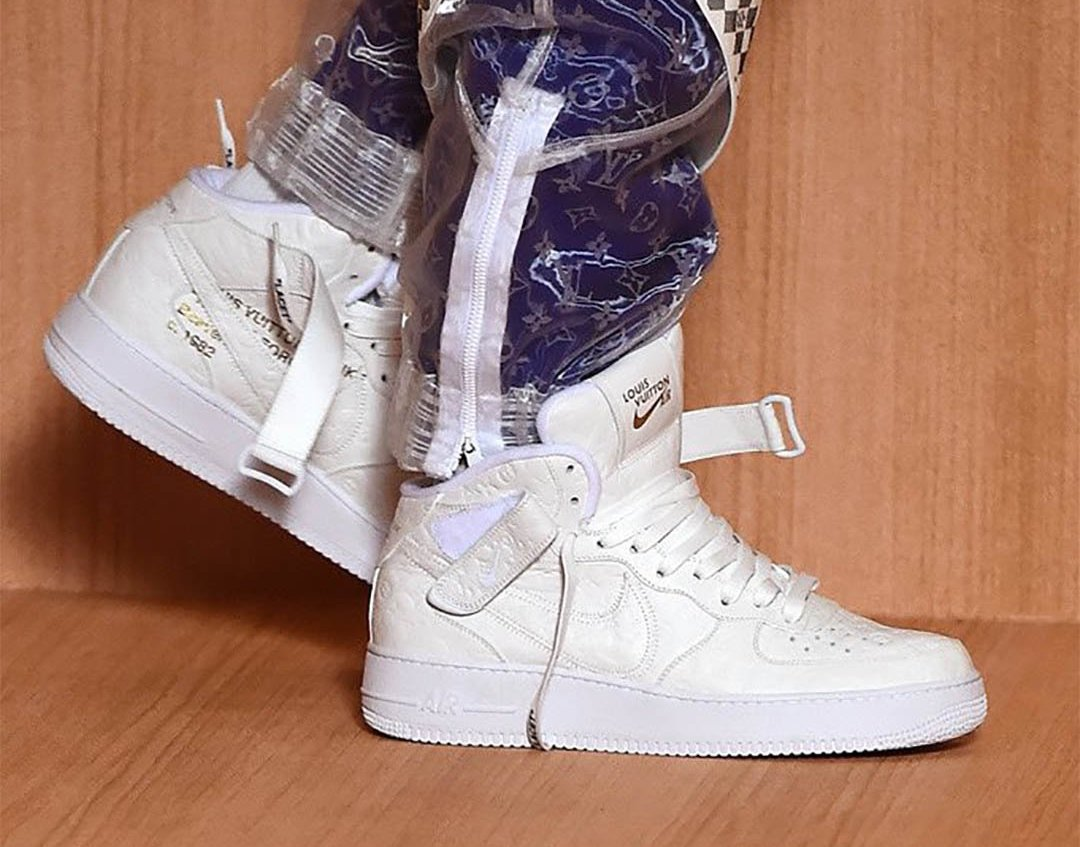 Louis Vuitton Nike Air Force 1 Low Release Date Info