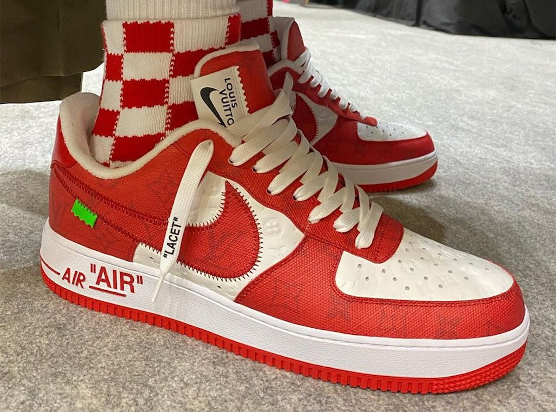 Louis Vuitton Nike Air Force 1 Low