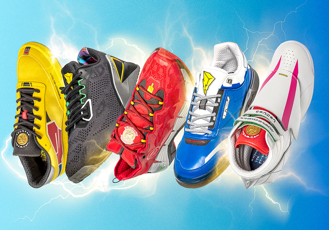 Mighty Morphin Power Rangers Reebok Collection Release Date Info
