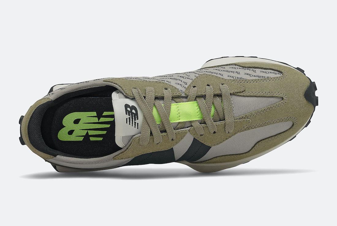 New Balance 327 Aluminum Covert Green MS327IB Release Date Info