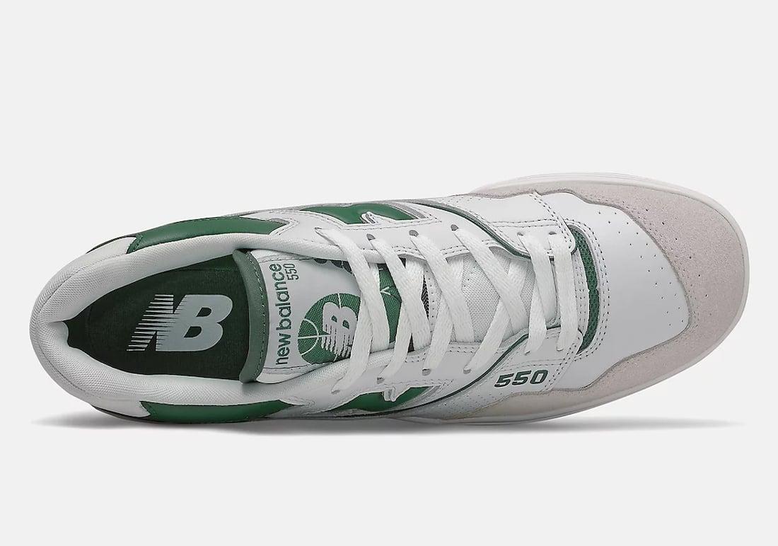 New Balance 550 White Green BB550WT1 Release Date Info