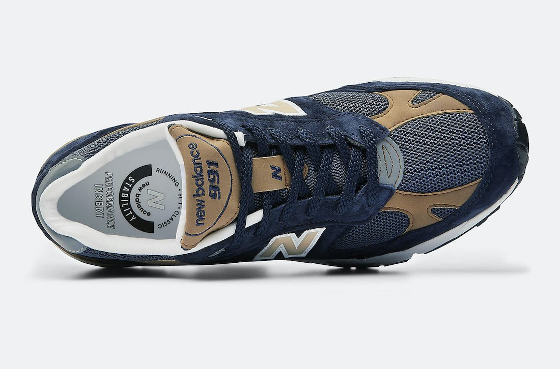 New Balance 991 Made in UK Navy Sand M991DNB Release Date Info