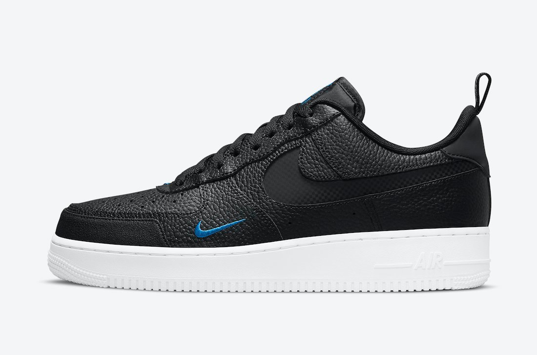 Nike Air Force 1 Low Black Blue DN4433-002 Release Date Info