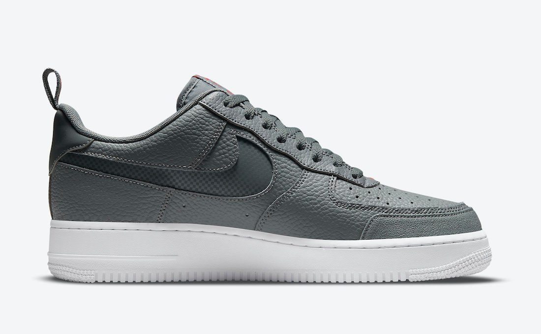 Nike Air Force 1 Low Grey Red DN4433-001 Release Date Info