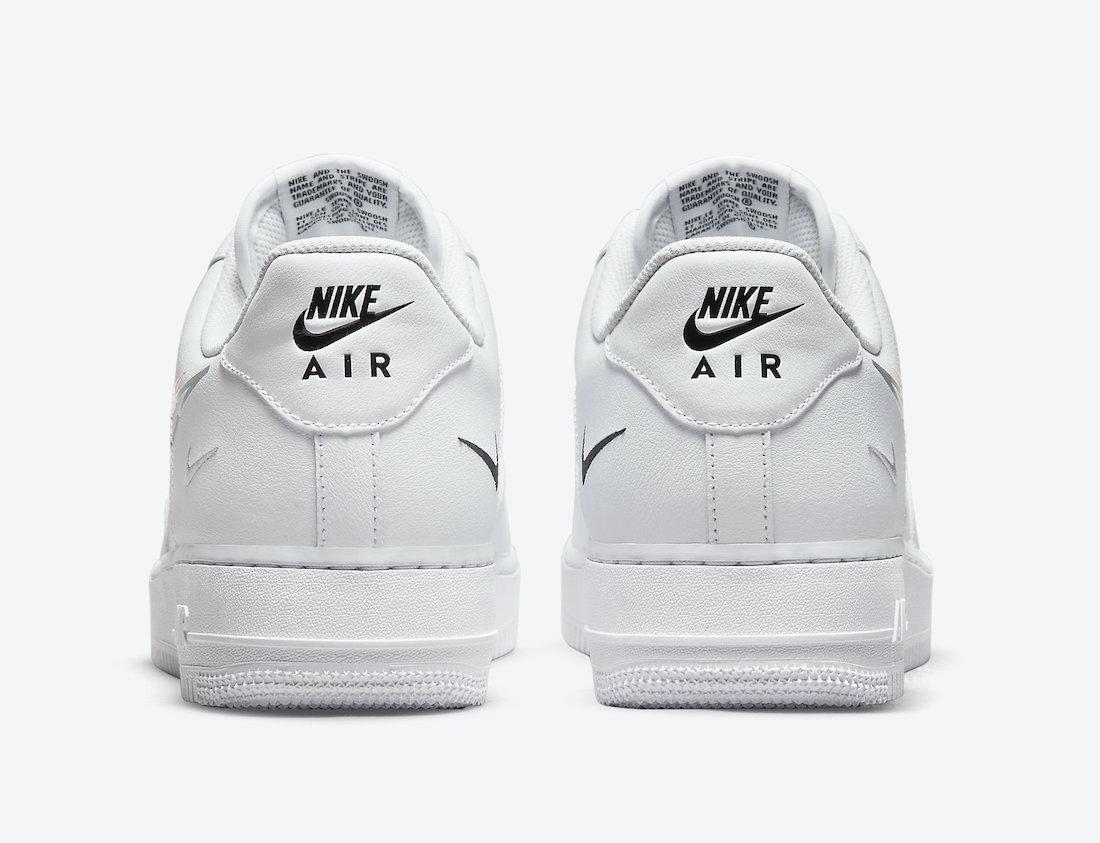 Nike Air Force 1 Low Multi Swoosh DM9096-100 Release Date Info
