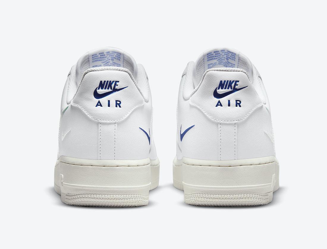 Nike Air Force 1 Low Multi Swoosh DM9096-101 Release Date Info