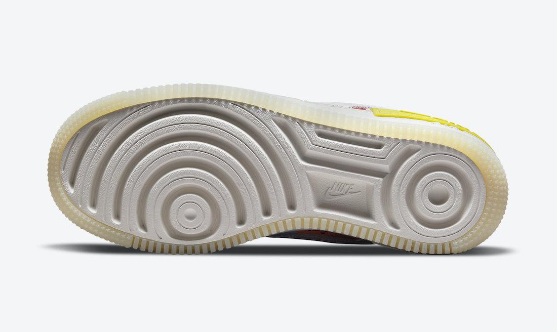 Nike Air Force 1 Shadow Multi Patterns DM8076-100 Release Date Info