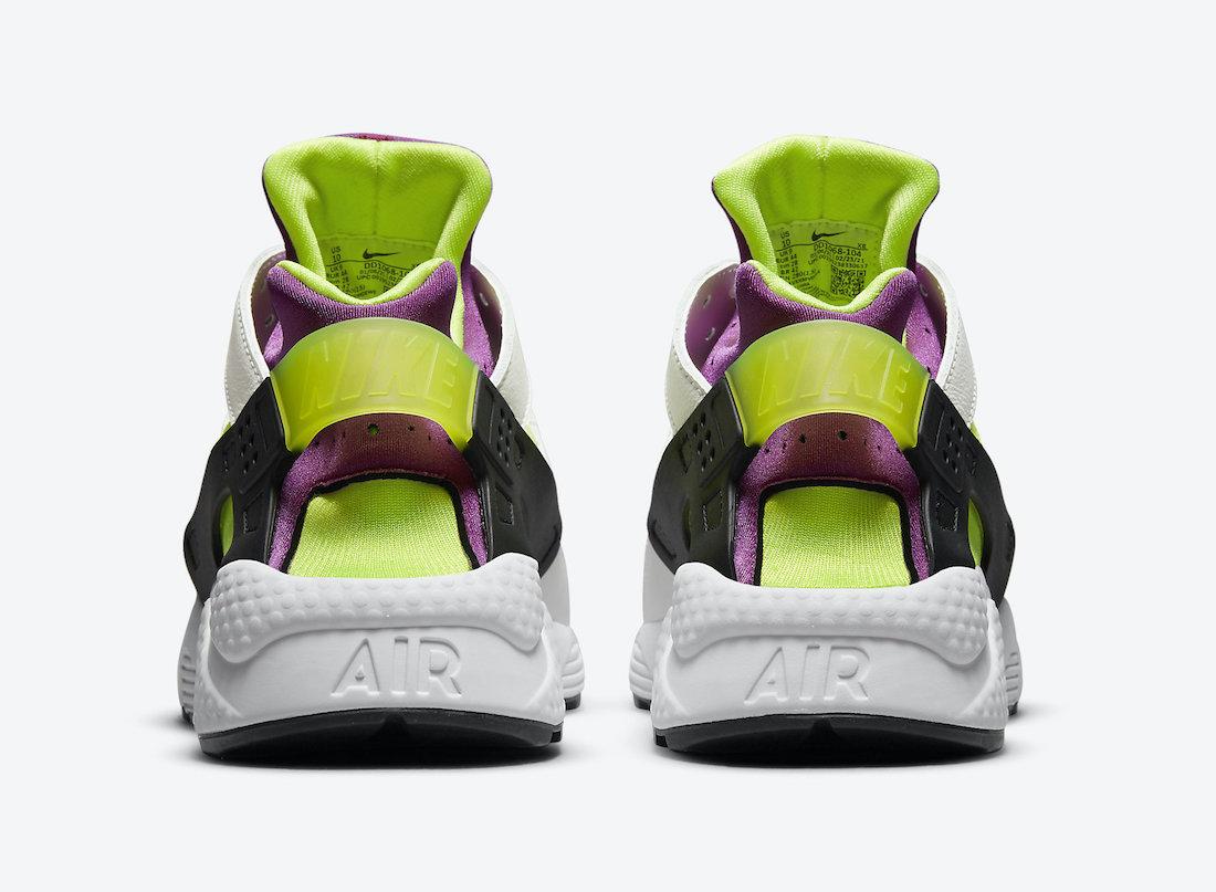 Nike Air Huarache Magenta Neon Yellow DD1068-104 Release Date Info