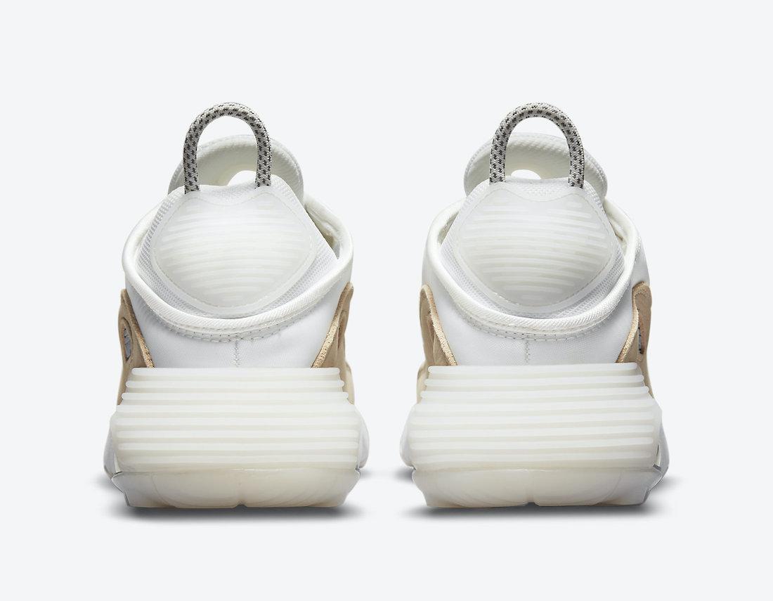 Nike Air Max 2090 White Tan Grey DA8702-100 Release Date Info