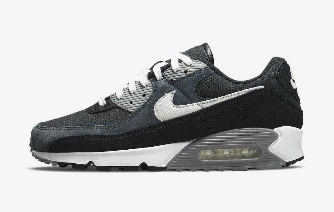 Nike Air Max 90 Premium Canvas Suede DA1641-003 Release Date Info