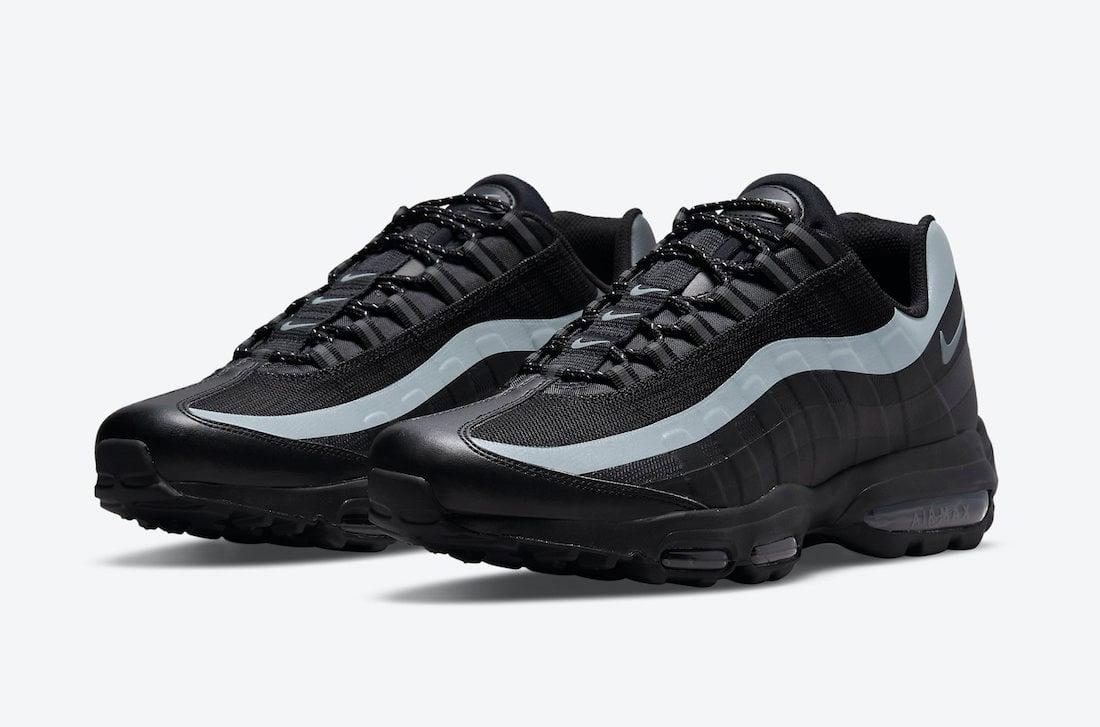 Nike Air Max 95 Ultra Black Reflective DM9103-001 Release Date Info