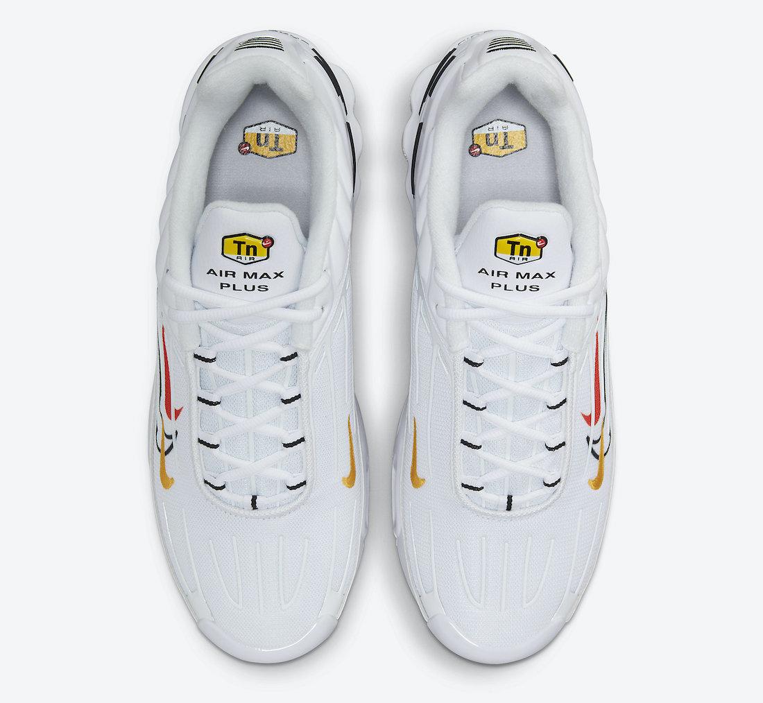 Nike Air Max Plus 3 Multi Swoosh DN6993-100 Release Date Info