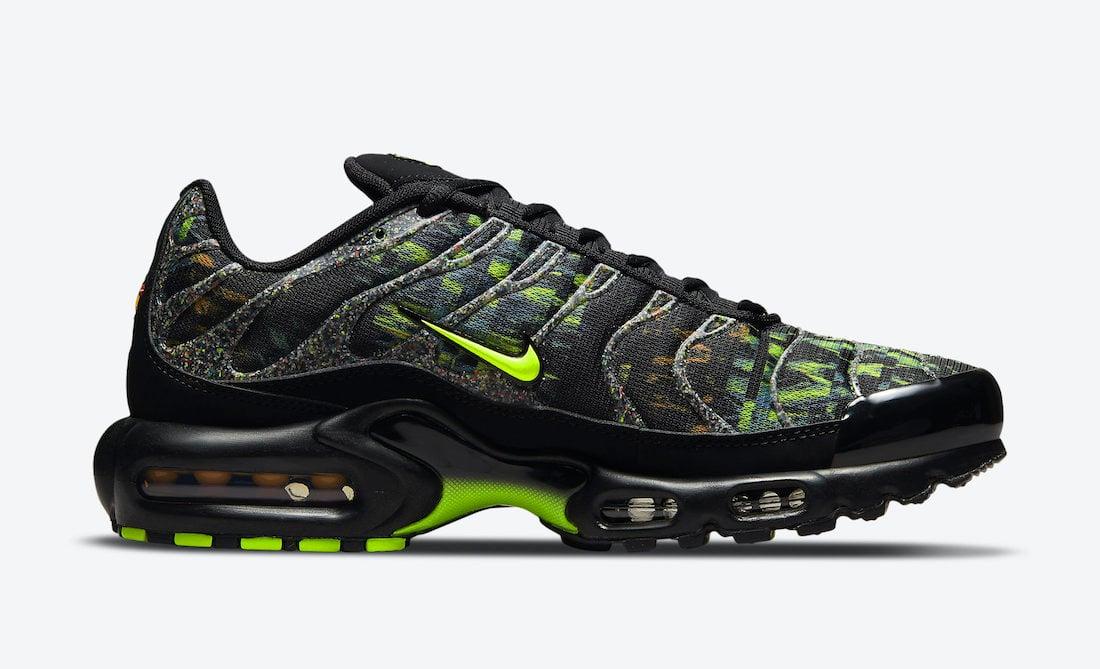 Nike Air Max Plus Black Green DM9594-001 Release Date Info