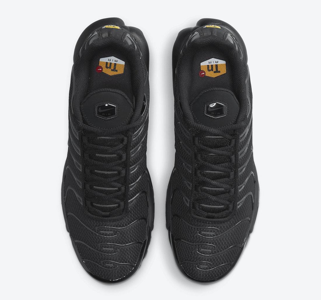 Nike Air max Plus Triple Black DB0682-001 Release Date Info