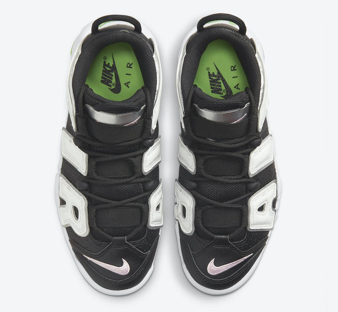 Nike Air More Uptempo Black White Silver DN8008-001 Release Date Info