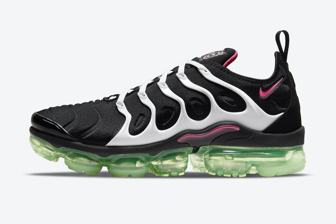 Nike Air VaporMax Plus Black Pink Green DM8121-001 Release Date Info