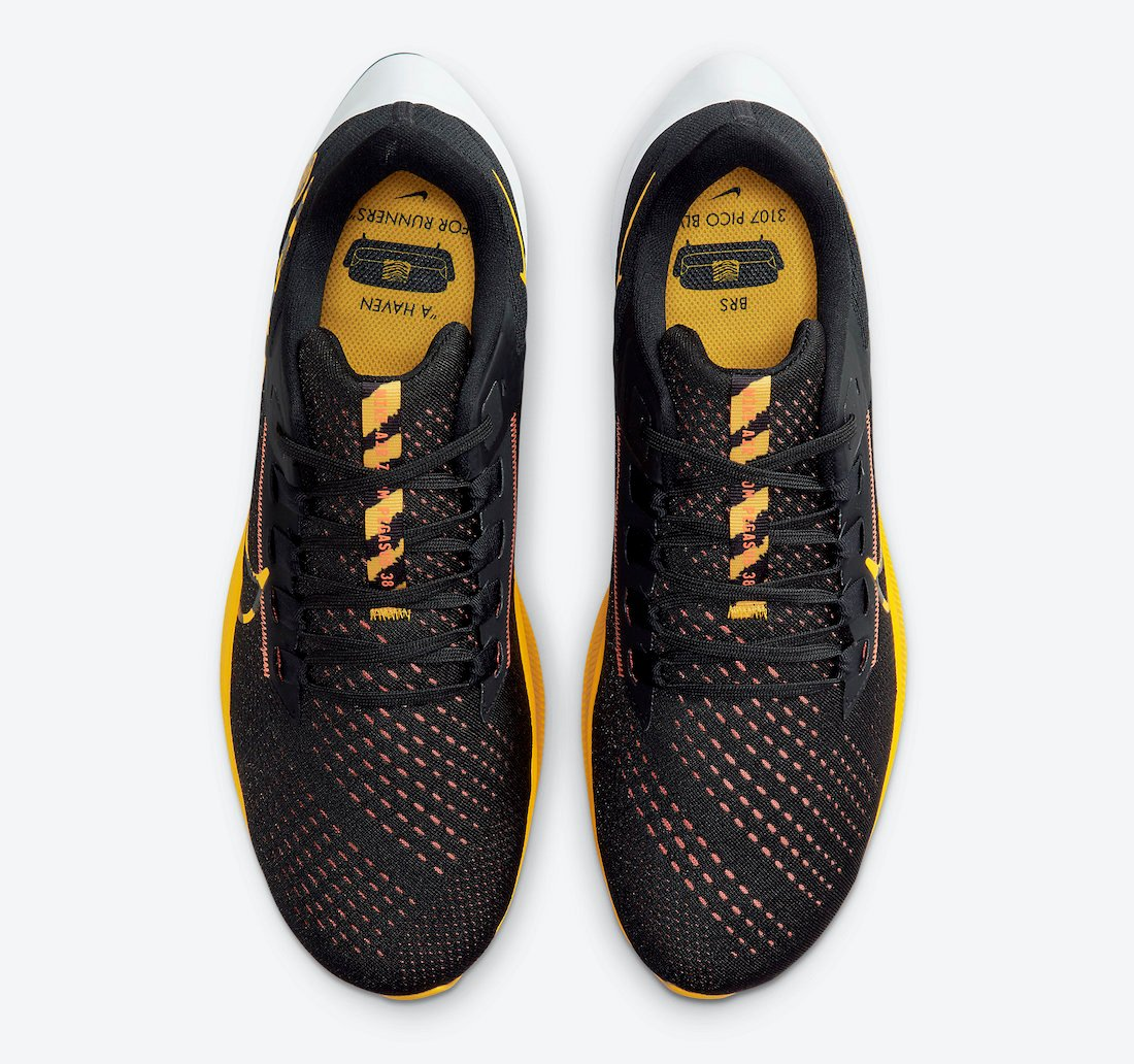 Nike Air Zoom Pegasus 38 Blue Ribbon Sports DM7602-001 Release Date Info