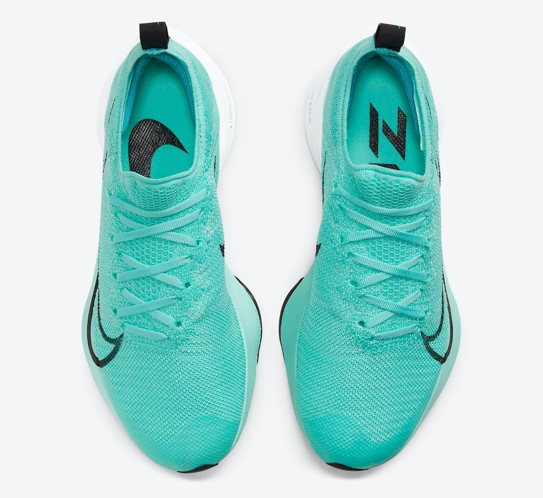 Nike Air Zoom Tempo NEXT% Hyper Turquoise CI9924-300 Release Date Info