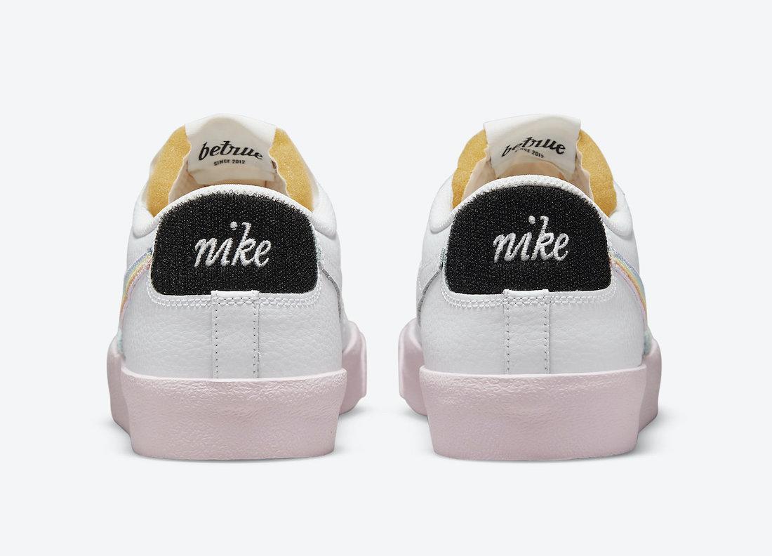 Nike Blazer Low Be True DD3034-100 Release Date Info