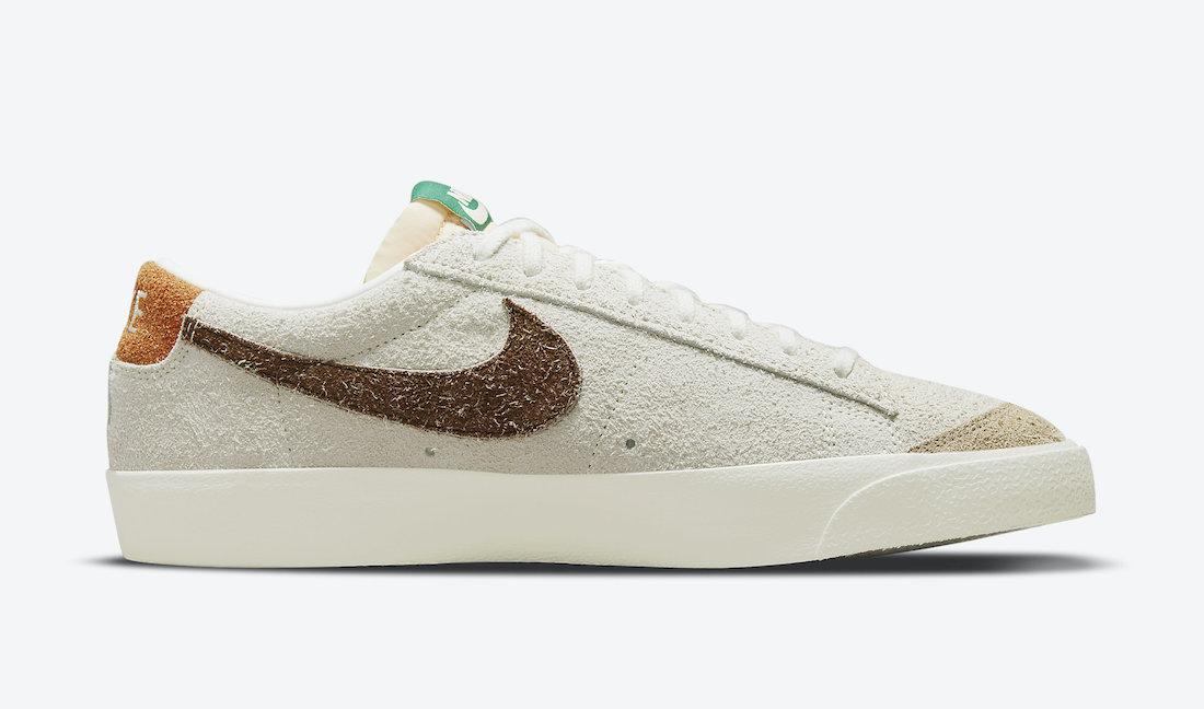 Nike Blazer Low Suede DM7582-100 Release Date Info